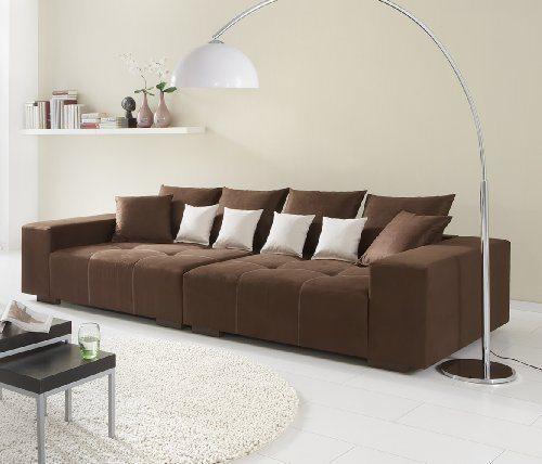 big sofa made in germany bezug alcatex noble lux. Black Bedroom Furniture Sets. Home Design Ideas