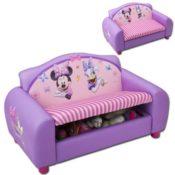 Kindersofa Minnie Mouse lila