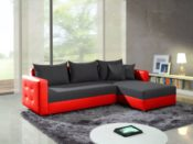 Elegantes Ecksofa mit Bettfunktion