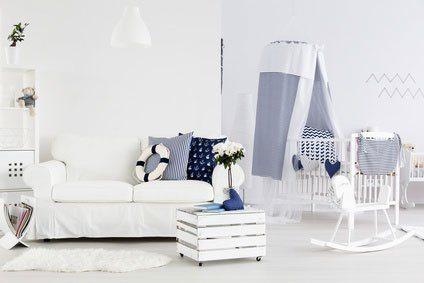 Sofa für das Babyzimmer