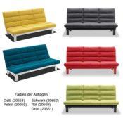 lounge-zone Schlafsofa KLAPP diverse Farben