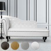 Miadomodo Chesterfield Sofa Vintage