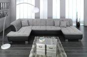 Lounge Sofa schwarz