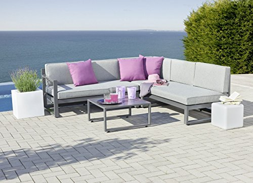 Greemotion gartenm bel set aluminium sofa for Greemotion gartenmobel