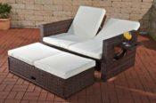 CLP flexibles Poly-Rattan Lounge