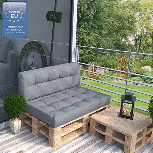 palettensofa mit lehne und kissen. Black Bedroom Furniture Sets. Home Design Ideas