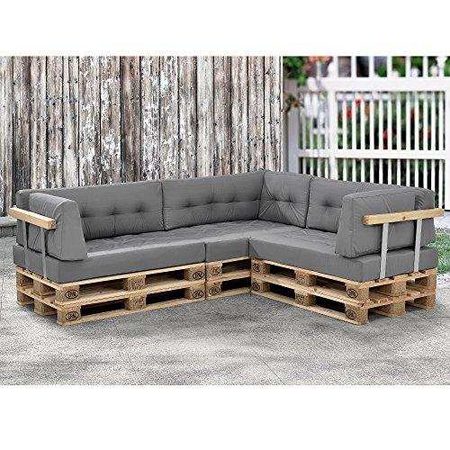 Modernes paletten sofa in outdoor for Paletten sofa outdoor